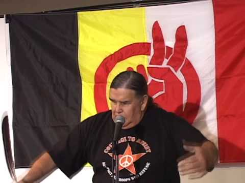 Clyde Bellecourt speaks at the 2009 AIM Fall Conference (pt 2 of 6)