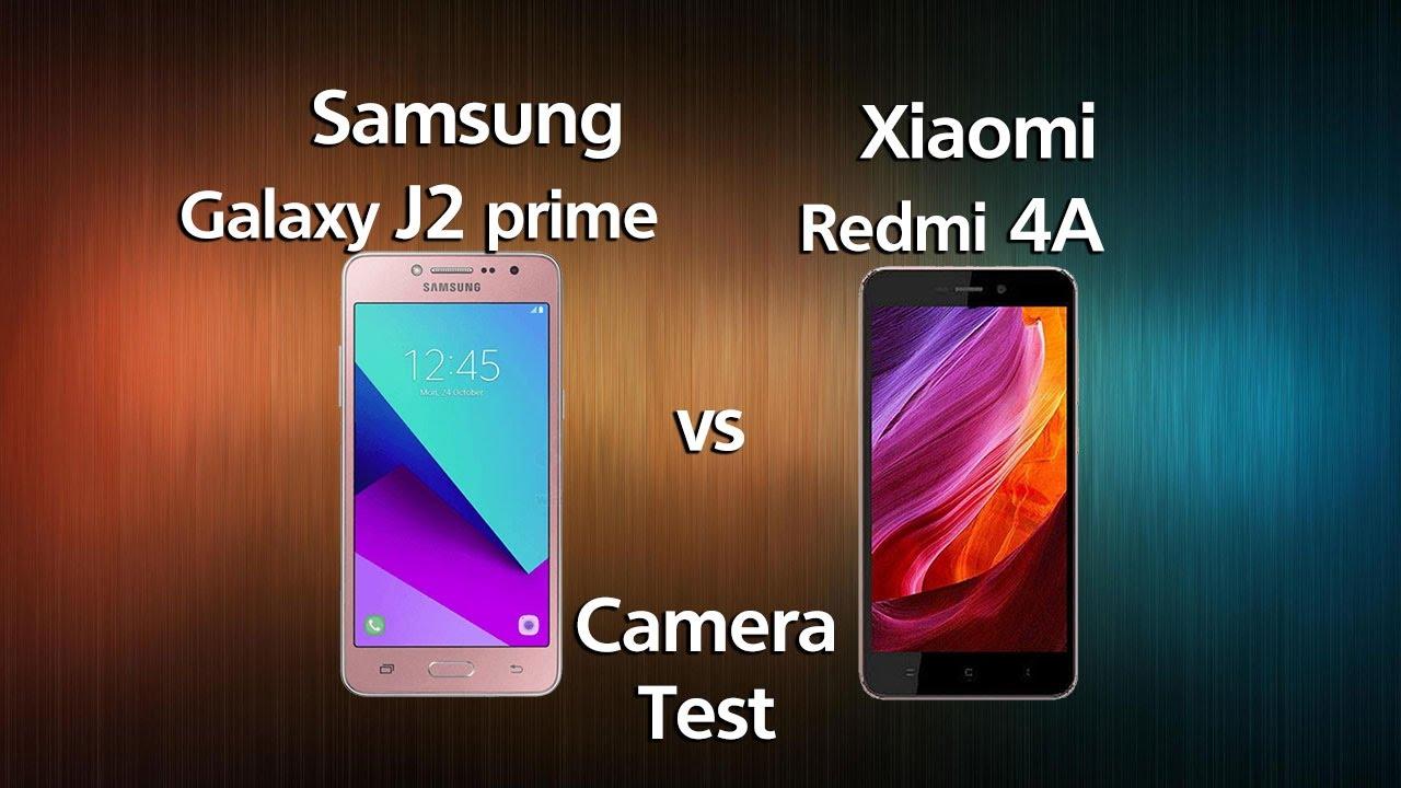 Samsung J2 Prime Vs Xiaomi Redmi 4A