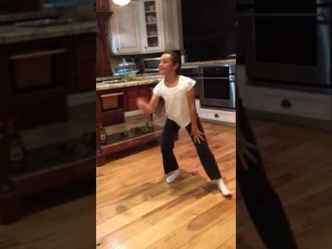 Morgan Rodriguez dancing before bed