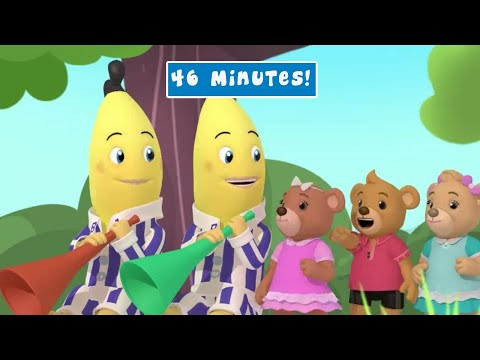 Bananas in Pyjamas Full Episode Compilation #25 - Bananas in Pyjamas Official