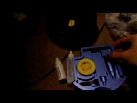 Review of ecare disc repair cleaning machine aka disc spirographer tested with new blank cd.