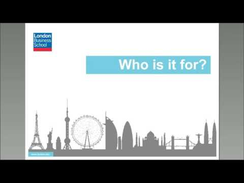 Sloan Online Information Session | London Business School