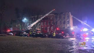 1 Dead, 1 Injured In SW Baltimore Fire