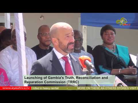 Speech of Mr. Soares The Under SG for Legal Affairs at the Gambia's Launching of TRRC