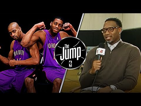 McGrady Talks About Making Basketball Popular In Toronto With His Cousin Vince Carter | The Jump