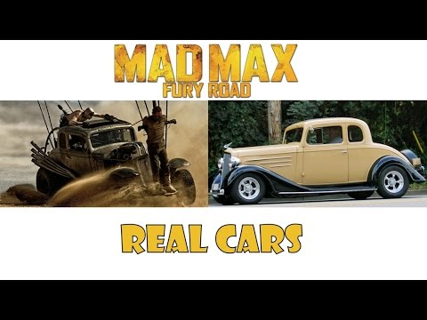 Mad Max Fury Road Cars In Real Life