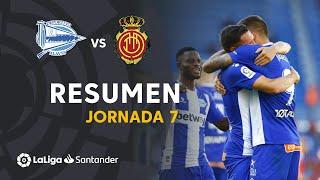 Resumen de Deportivo Alavés vs RCD Mallorca (2-0)