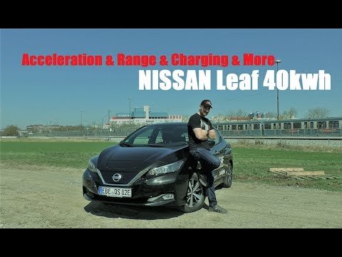 Nissan Leaf 40kwh 2018 - FULL Review / Test
