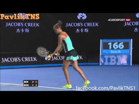 Belinda Bencic vs Kateryna Bondarenko Highlights ᴴᴰ Australian Open 2016