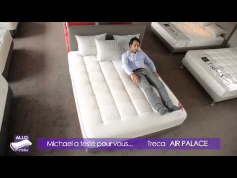 matelas air palace 700 treca royal air spring par michael allomatelas youtube. Black Bedroom Furniture Sets. Home Design Ideas