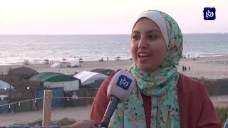 الإفطار على شاطئ البحر..متنفس لأهالي قطاع غزة - (20-5-2019)