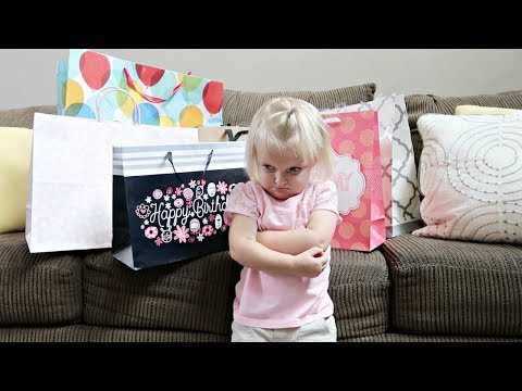 NO BIRTHDAY PRESENTS FOR HER?!