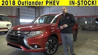 2018 Mitsubishi Outlander PHEV Exterior & Interior Walkaround