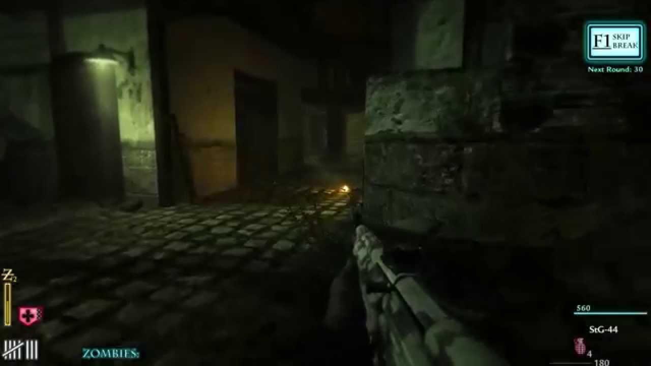 CoD WaW Custom Zombie Map TMG Castle First Attempt SOLO (PC) ᴴᴰ ...