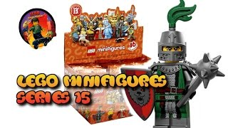 15 серия минифигурок LEGO, дополненная / Lego minifigures 15 series review