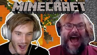 I burned down PewdiePie's Minecraft house