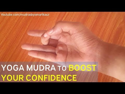 Aakash Mudra | Yoga mudra to Quickly Boost your confidence