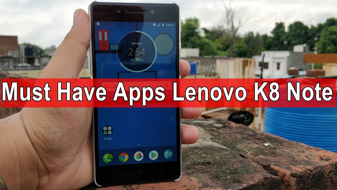 😮😱 Must Have Apps for Stock Android ft  Lenovo K8 Note