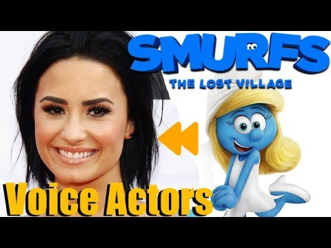 """""""Smurfs: The Lost Village"""" Voice Actors and Characters"""