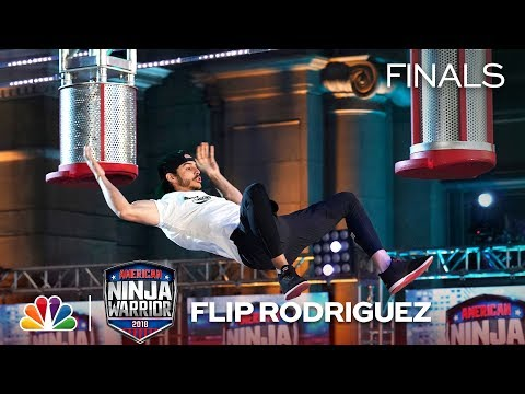 Flip Rodriguez at the Los Angeles City Finals  American Ninja Warrior 2018