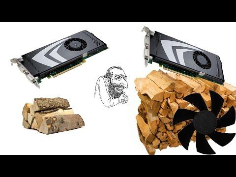 Nvidia замедляет старые видеокарты