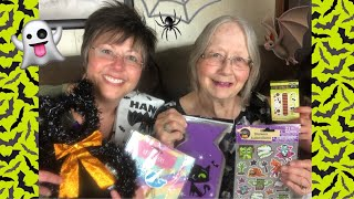 DOLLAR TREE HAUL | HALLOWEEN FINDS| PARTY & DIY CRAFT SUPPLIES | SUPPLIES | September 2019