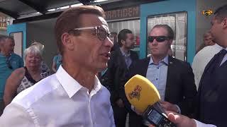 Ulf Kristersson: Vi står för vår politik hela vägen in i kaklet