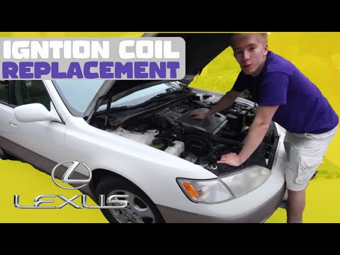 How to Replace Ignition Coil Lexus ES300 (DIY)