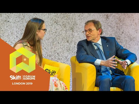 Silversea CEO At Skift Forum Europe 2019