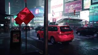 walking on a rainy night (lofi hip-hop mix)