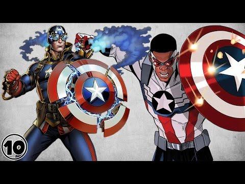 Top 10 Alternate Versions Of Captain America – Part 2