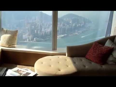 Ritz Carlton Hong Kong - Deluxe Victoria Harbour Suite
