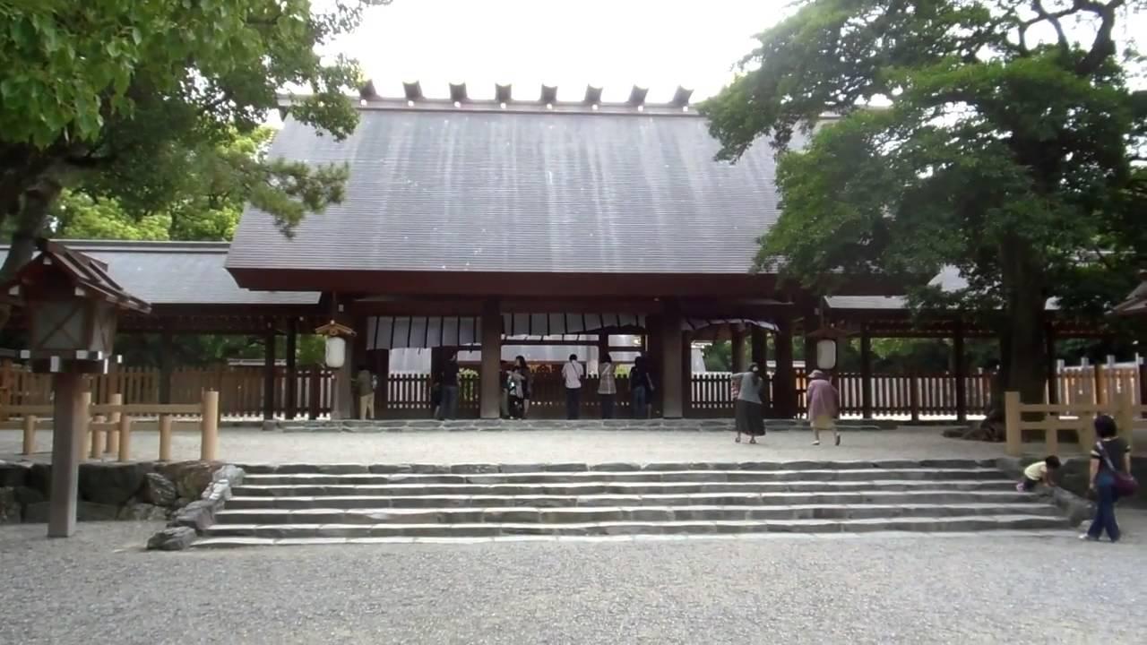 Atsuta Shrine Japan - YouTube