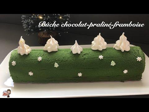 recette-de-la-bûche-de-noël-chocolat-praliné-framboise-🎄