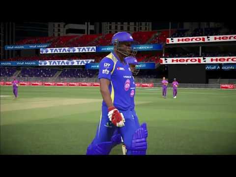 Don Bradman Cricket 17   Rising Pune Supergiants Vs Mumbai Indians   IPL MATCH Live #2