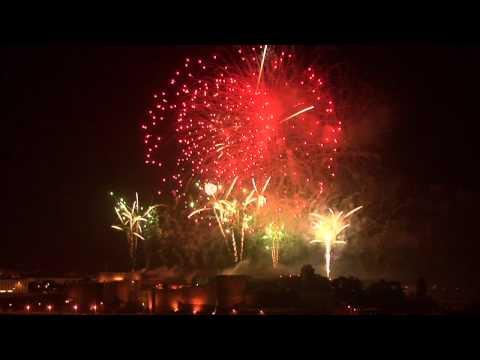 le feu d'artifice de Brest 13 Juillet 2011
