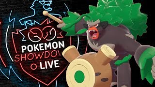 Enter RILLABOOM! Pokemon Sword and Shield! Rillaboom Pokemon Showdown Live!