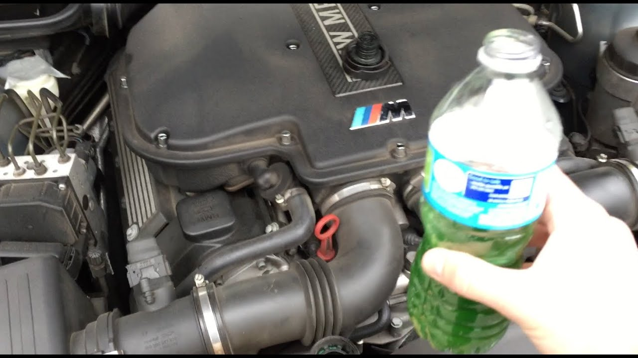 How to Add Coolant To Your E39 BMW M5 Check Coolant Level Warning