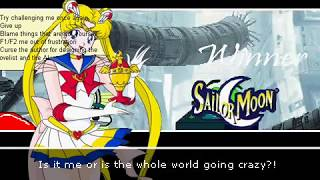 Mugen - Sailor Moon and Clippy vs Homer Simpson and Fat Albert