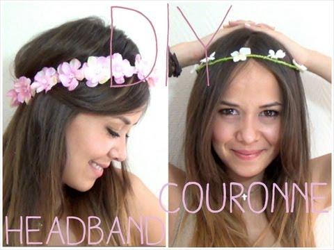 DIY │Headband/couronne de fleurs ▵ Alyssia