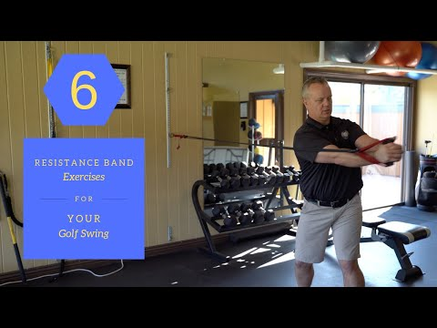 6 Resistance Band Exercises For Your Golf Swing