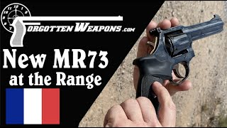 New Beretta-Imported MR73 at the Range