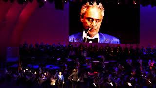 Andrea Bocelli 'Nessun Dorma' Concert 6-20-2018 Hollywood Bowl Los Angeles, California