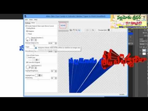 How to Create 3D Effects to Your Text? - Adobe Photoshop Tip