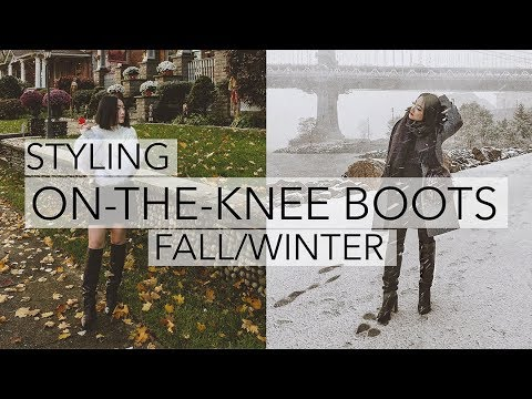 HOW TO STYLE + LOOKBOOK | Black On-the-Knee Boots for Fall/Winter 2018 2