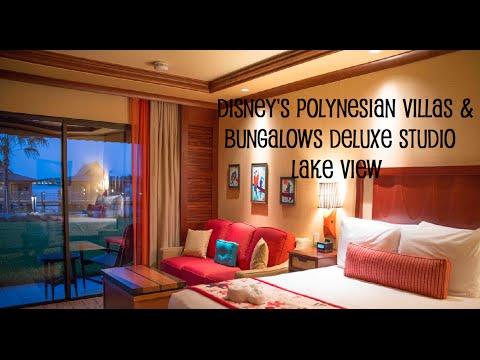 Disney S Polynesian Villas And Bungalows Deluxe Studio