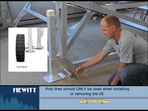 How to Install Corner Assist Wheels on a Cantilever Lift
