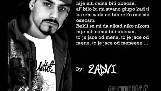 Struka ft. MVP - Ono sto osecam (Tekst)