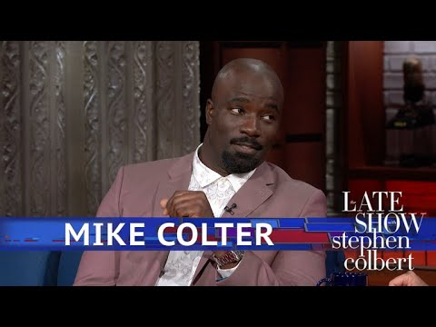 Mike Colter And Stephen Reenact The First Edition 'Luke Cage'