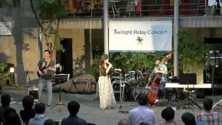 サンパティオ大町でリレーコンサートが開催されました。 本田みどり&DY...
